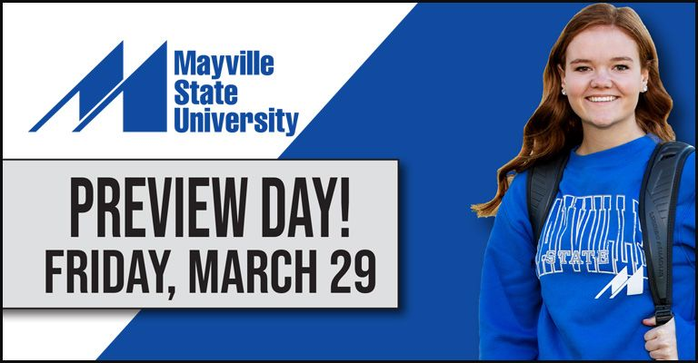 Preview Day at Mayville State is March 29