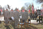 The Full Battle Rattle Brass Quintet of the 188th Army National Guard provided instrumental music.