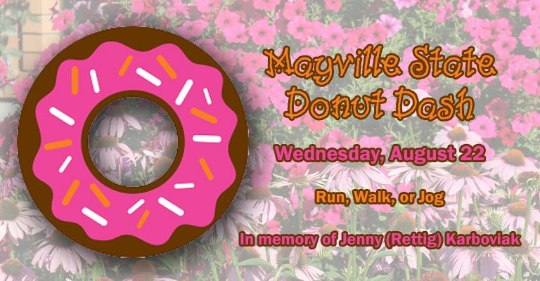 Mayville State University Donut Dash planned for August 22