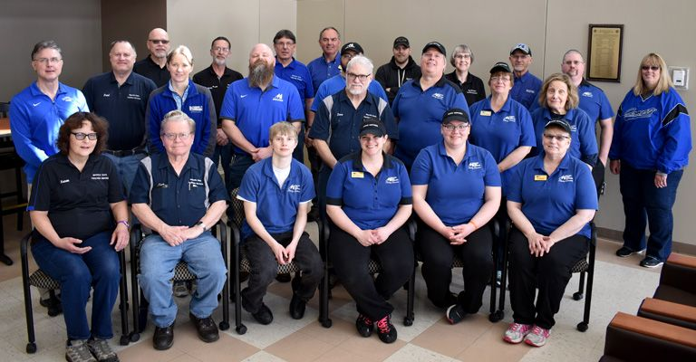 Physical plant, facilities services, and dining services staff make a difference